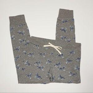 J.Crew | Zebra Print Pajama Legging | S